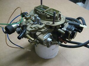 1-620 New Holley Replacement Carburetor Model 6520 Calif.only feed back carb.