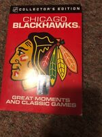 NHL: Chicago Blackhawks - Great Moments and Classic Games (DVD, 2010, 6-Disc Se…