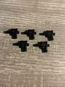 LEGO Lot of 5 Accessories Star Wars Pistol Small Blasters Gun Minifigure 60174