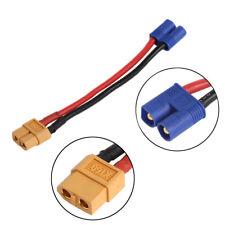 EC2 connecteur banane mâle À XT60 Plug adaptateur femelle Pour RC Lipo batterie