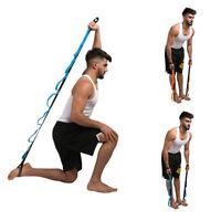 New 100% Polyester Yoga Belt 2M Length Stretching Exercise Training Yoga Strap