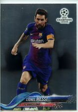 2017-18 Topps Chrome UEFA CL #1 Lionel Messi - FC Barcelona