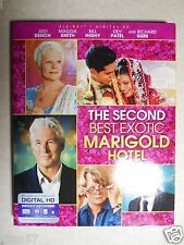 The Second Best Exotic Marigold Hotel (Blu-ray Disc, 2015) W/Slipcover