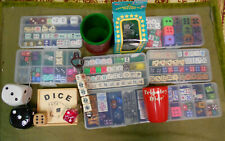 #NN.   JOB LOT OF DICE COLLECTION & OTHER DICE RELATED ITEMS