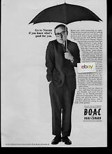 BOAC GO TO NASSAU IF YOU KNOW WHAT'S GOOD FOR YOU BOEING 707 JETS NEW YORK AD