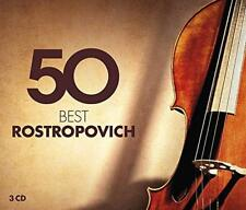 50 Best Rostropovich - Various Artists (NEW 3CD)
