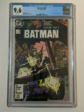 Batman #406 CGC 9.6 White Pages Year One Storyline Frank Miller DC Comics 1987