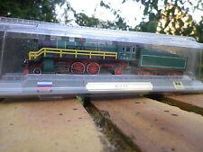 De agostini Atlas loco vapeur RUSSE SU 1-3-1 échelle N motorisable ? Neuve boite