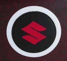 SELF CLING TAX DISC HOLDER FITS any car suzuki red