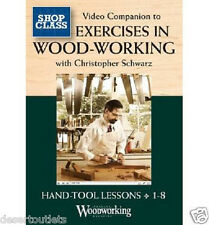 NEW! Video Companion to Exercises in Woodworking by Christopher Schwarz  DVD