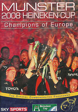 MUNSTER, IRELAND 2008 HEINEKEN CUP CHAMPIONS OF EUROPE RUGBY DVD - NEW & SEALED