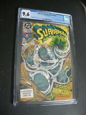 Superman: The Man of Steel #18 CGC graded 9.6 1st full appearance of Doomsday