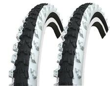 2 Stück Kenda 24 Zoll Reifen schwarz/weiß 24x1.95 (50-507) MTB Decke