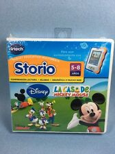 Vtech Storio La Casa de Mickey Mouse Disney Spanish Learning Game Juego Español