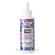 Jewel Bond Adhesive Glue For Jewelry Rhinestone Flat Backs on Fabric and Cloth