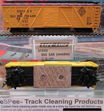 eSPee TRACK CLEANING BOX CAR - Life-Like - Chicago & Illinois Mid - N Scale MTL