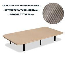 Base tapizada 105x190 tejido 3D + 6 patas. Nacional Alta calidad al mejor precio