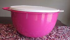 Tupperware MEGA NEW  Thatsa Bowl  10 L 42  cups Pink Punch HOT