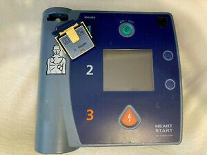 PHILIPS HEARTSTART AED FR2+ DEFIBRILLATOR, NEW BATTERY 2025 & NEW PADS 2024