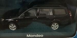 1:43 MINICHAMPS FORD MONDEO WAGON DEALER BLACK MINT NEVER DISPLAY