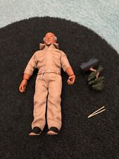 NECA Karate Kid Mr. Miyagi Action figure loose & complete w/ bonsai & chopsticks