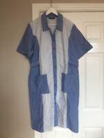 Alexandra Vista Range PE25 Nurse Carer Domestic Dress Bluegreen White Size UK 24