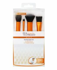 REAL TECHNIQUES Flawless Base Set Brush + cup NEW 91533 contour foundation