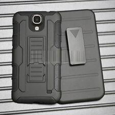 Armor Protector Hybrid Hard Case Cover Holster For Samsung Galaxy Mega 2 G750