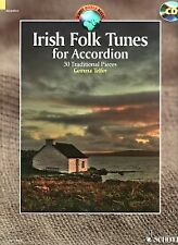 IRISH FOLK TUNES FOR ACCORDION Telfer + CD