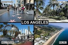 SOUVENIR FRIDGE MAGNET of LOS ANGELES CALIFORNIA USA