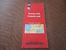 carte routiere michelin n° 919 france sud