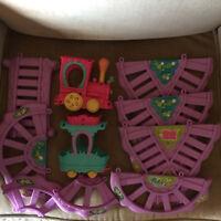 MY LITTLE PONY Ponyville FRIENDSHIP EXPRESS Train Nursery Car
