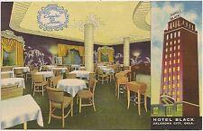 Empire Room at Hotel Black in Oklahoma City OK Postcard