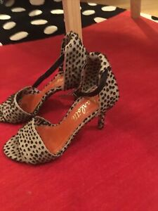 Charlotte Olympia Heel Sandals Size 39 UK 6