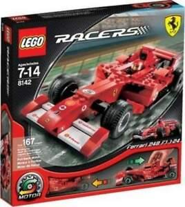LEGO 8142 Racers Ferrari 248 F1 1:24