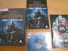 LOTR BATTLE FOR MIDDLE EARTH II 2 RISE OF THE WITCH-KING PC  EXPANSION PK