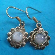 Moonstone Women Earrings Indian Jewellery