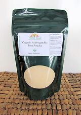 Organic Ashwagandha Root Powder 4 OZ (Indian Ginseng) Withania Somnifera
