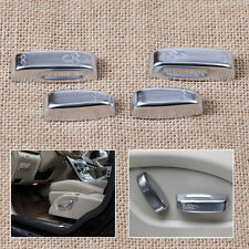 4* Seat Adjustment Switch Button Cover Trim for Volvo XC60 V60 S60 V40 2010-2015