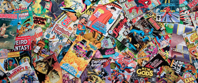 Lost and Found Comics