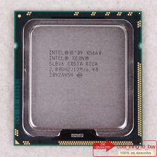 Intel Xeon X5660 CPU (BX80614X5660) LGA 1366 SLBV6 2.8/12M/6.4 GT/s Free ship