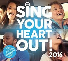 SING YOUR HEART OUT 2016 - VARIOUS ARTISTS: 2CD ALBUM SET (February 26th 2016)