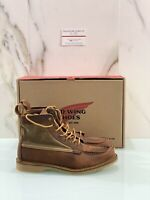Red Wing Boots Uomo 6 Inch Moc Copper  In Pelle  Red Wing Uomo 40 Vibram