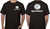 Nightforce AR-15 Rifle Scopes Binoculars Sights Hunting Black T-shirt Size S-5XL