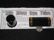 Silk Blow Dye Tube Magic Trick - Utility Prop Secretly Exchanges A Silk, Stage