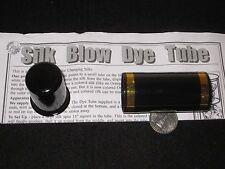 Silk Blow Dye Tube Magic Trick - Utility Prop Secretly Exchanges A Silk, Stage