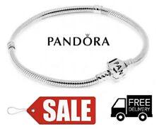 Pandora Moments Sterling Silver Charm Bracelet Barrel Clasp - 20cm's (Brand New)