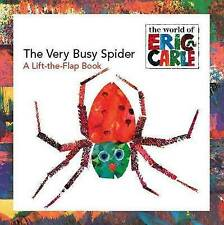 The Very Busy Spider: A Lift-The-Flap Book by Eric Carle (Paperback, 2006)
