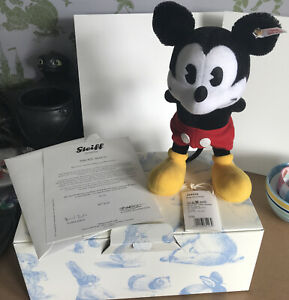Steiff Mickey Mouse 354939 Number 834