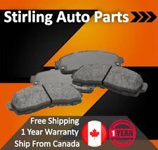 Centric 2-Wheel Set Brake Pad Sets Front Driver /& Passenger Side 102.06110